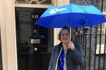 Vicky Ford at Downing Street